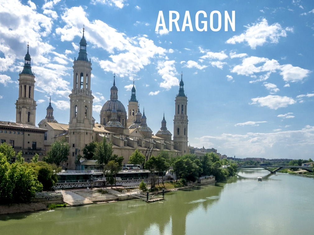 The different regions of Spain - Aragon