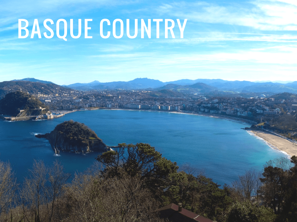 The different regions of Spain - Basque Country