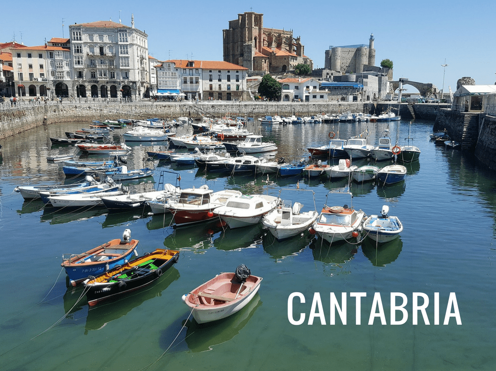 The different regions of Spain - Cantabria
