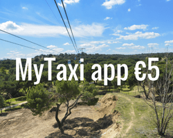 MyTaxi app discount code