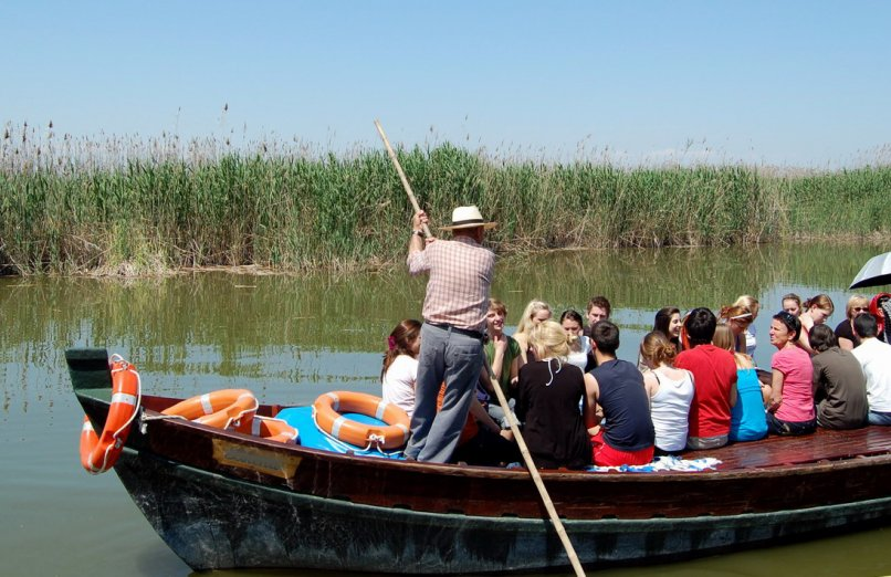 Albufera nature reserve and wetlands in Spain