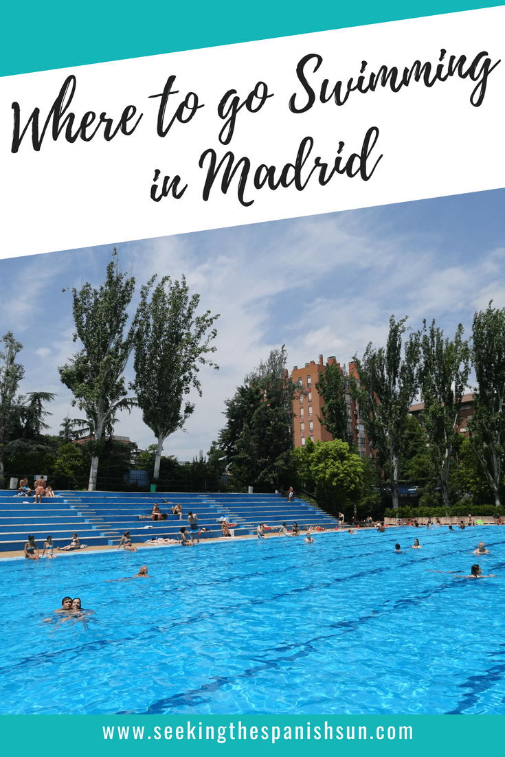Swimming in Madrid, Spain