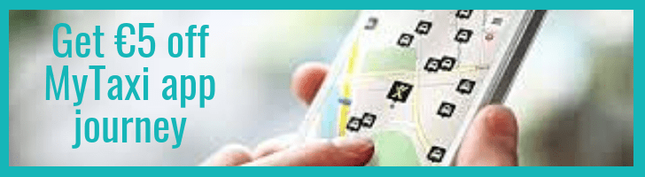 MyTaxi discount in Spain