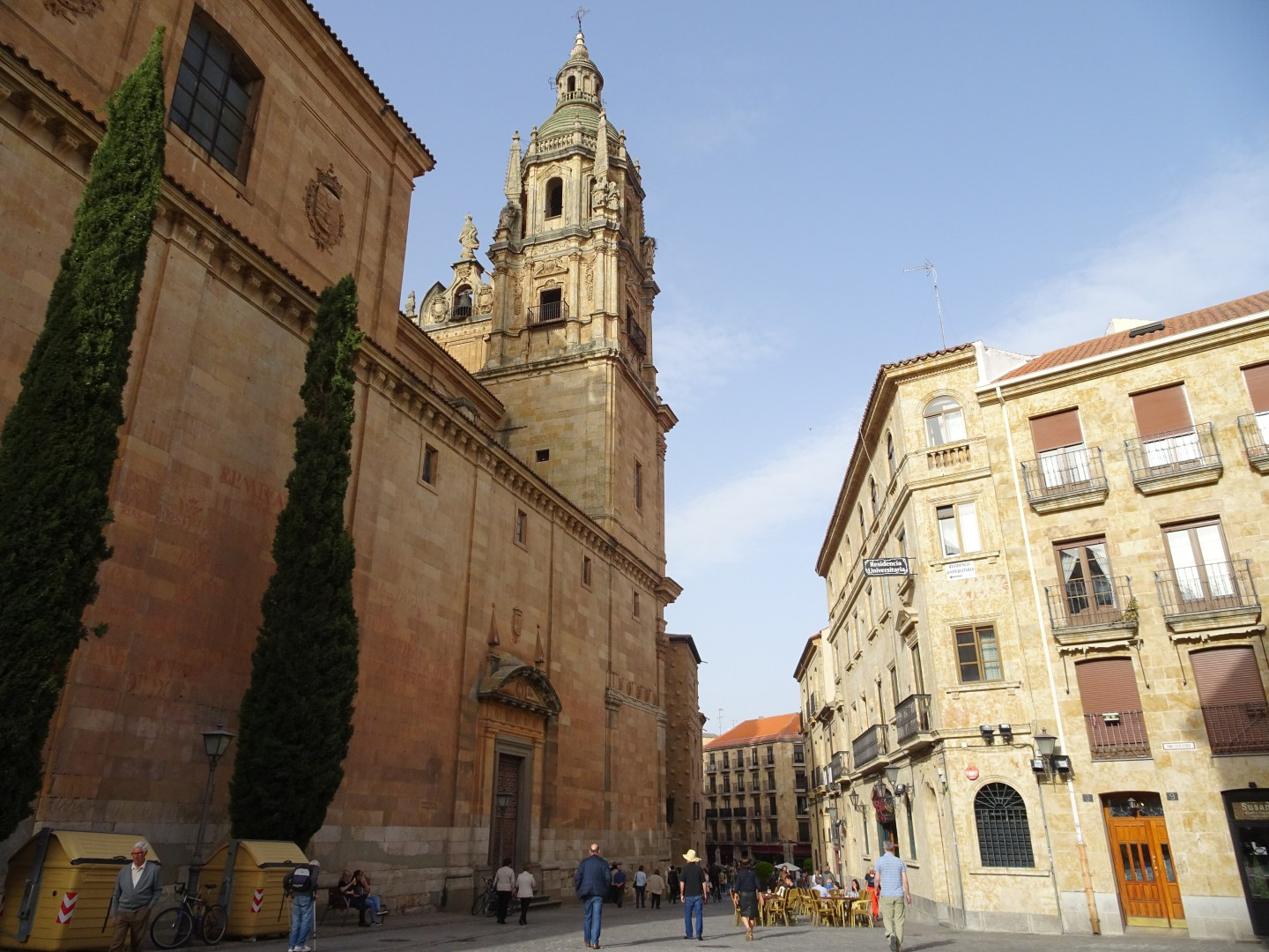 The architecture and history of Salamanca