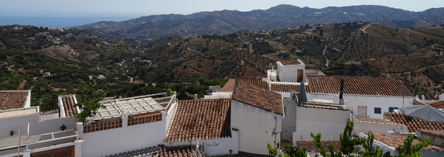 Frigiliana, the prettiest town in Andalucía