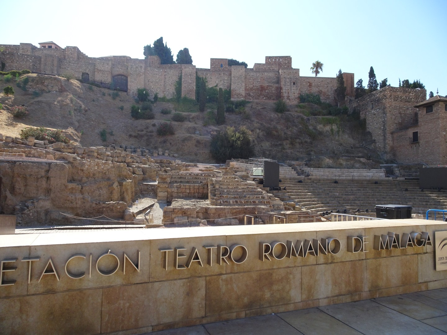 See the old historic remains in Malaga