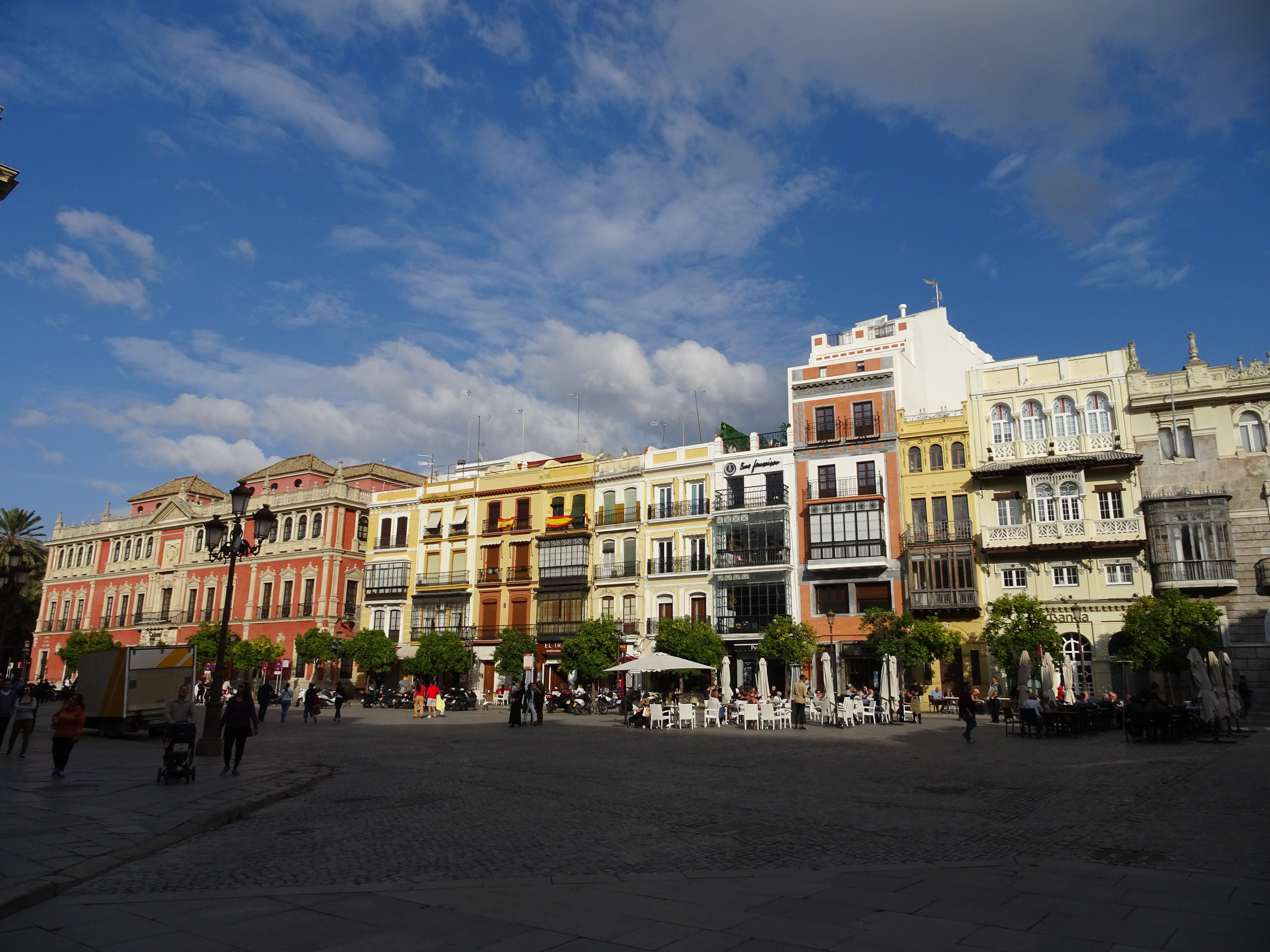 Explore the shopping streets of Seville
