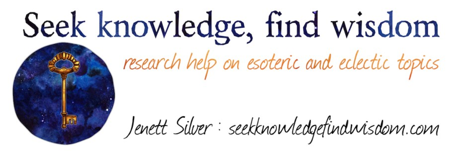 Seek Knowledge, Find Wisdom : Jenett Silver : seekknowledgefindwisdom.com