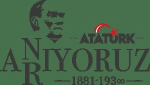 10 Kasım Atatürk'ü Anıyoruz Arıyoruz Logo Vector (.EPS