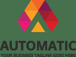 automatic design logo vector