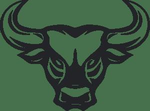 bull logo vector eps