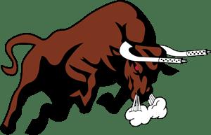 bull logo vector ai