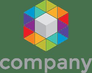 cube logo vectors free