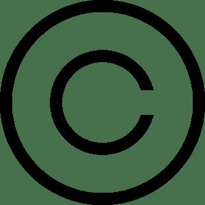 copyright logo vectors free