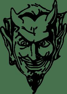 Devil Head Logo Vector (.EPS) Free Download