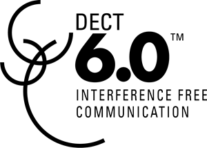 DECT 6.0 Interference Free Communication Logo Vector (.AI