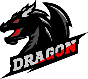 dragon logo vector eps