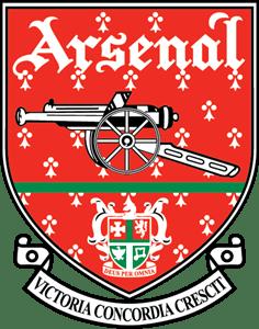 fc arsenal london 1990 s logo vector