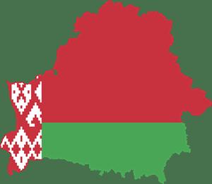Flag Map Of Belarus Logo Vector EPS Free Download