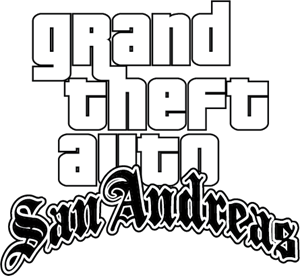 Grand Theft Auto SanAndreas Logo Vector (.EPS) Free Download