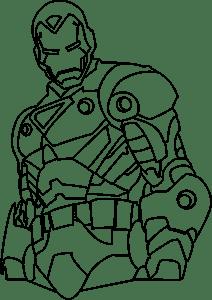 Iron Man Logo Vector (.EPS) Free Download