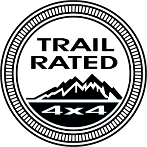 Jeep Trail Rated Logo Vector (.EPS) Free Download