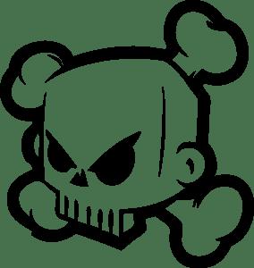 Ken Block skull Logo Vector (.EPS) Free Download