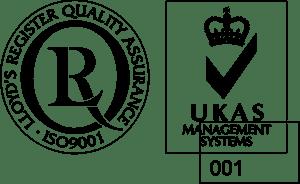 Lloyd's Register Quality Assurance ISO9001 Logo Vector
