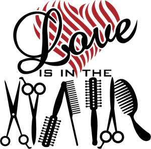 Download Love is in the Hair Logo Vector (.AI) Free Download
