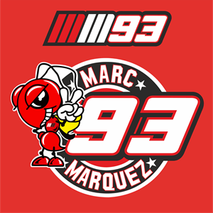 Marc Marquez Logo Vector AI Free Download