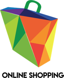 Online Shopping Logo Vector AI Free Download