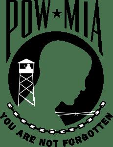 POW-MIA Logo Vector (.EPS) Free Download