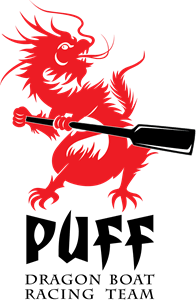 Puff Dragon Boat Racing Team Logo Vector EPS Free Download