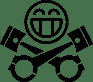 Piston Heads Logo Vector AI Free Download