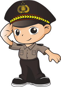 Polri Vector : polri, vector, Polisi, Promoter, Vector, (.CDR), Download