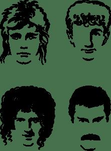 Queen Hot Space Logo Vector EPS Free Download