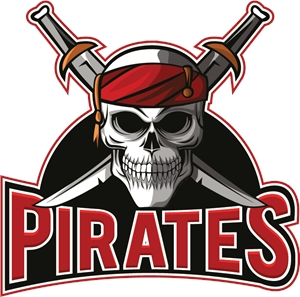 Retro Pirates Logo Vector EPS Free Download