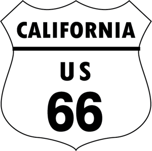 ROUTE 66 SIGN Logo Vector (.EPS) Free Download
