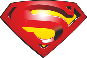 superman logo vector eps