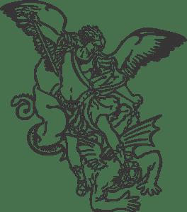 São Miguel Arcanjo Logo Vector (.CDR) Free Download