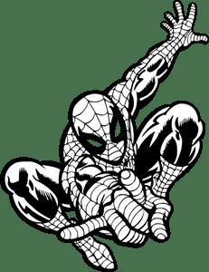 Spider-Man Logo Vector (.EPS) Free Download