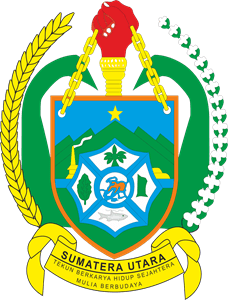 Lambang Pemprovsu : lambang, pemprovsu, Provinsi, Sumatera, Utara, Vector, (.CDR), Download