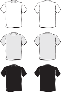 Vector Kaos Cdr : vector, T-Shirt, Vectors, Download