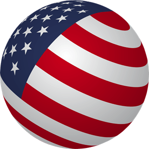 Usa Flag Logo Vector Eps Free Download