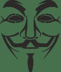 vendetta mask Logo Vector (.CDR) Free Download