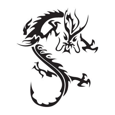 Dragon (.EPS) logo vector free