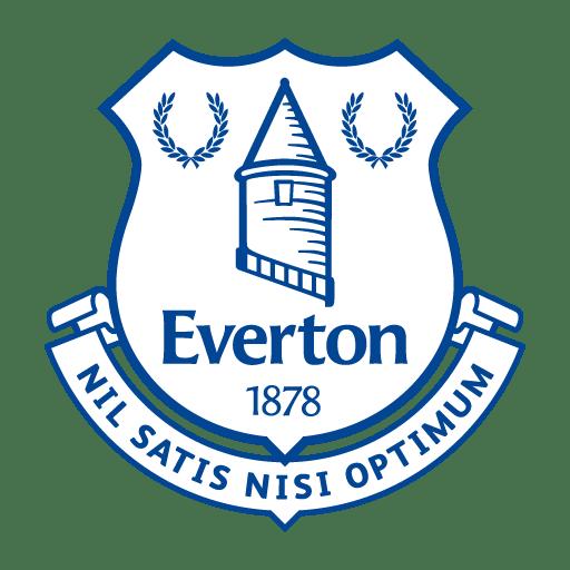 Download Everton Football Club brand logo in vector format