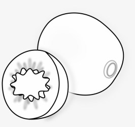 Clip Arts Related To Small Fruit Clipart Black And White Png PNG Image Transparent PNG Free Download on SeekPNG