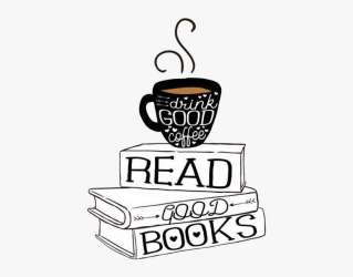 Coffee Books Coffeeandbook Aesthetic Blackandwhite Coffee And Book Draw PNG Image Transparent PNG Free Download on SeekPNG