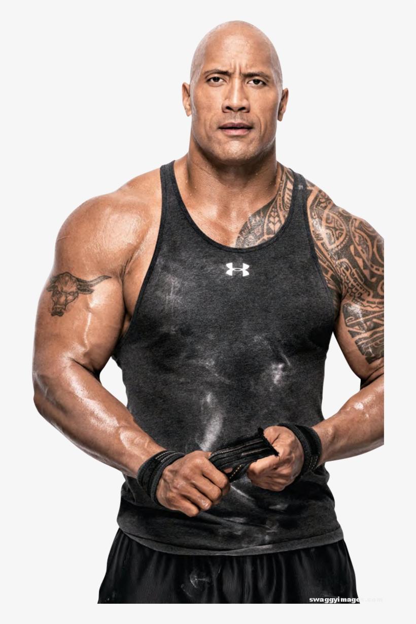 Otot : Download, Dwayne, Johnson, Bodybuilding, Image, Transparent, SeekPNG
